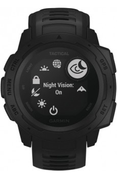 Garmin Instinct Tactical Outdoor-Smartwatch schwarz