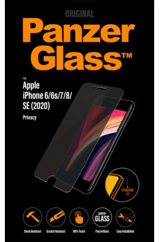 PanzerGlass Apple iPhone 6/6s/7/8/SE (2020) Privacy Standard Fit